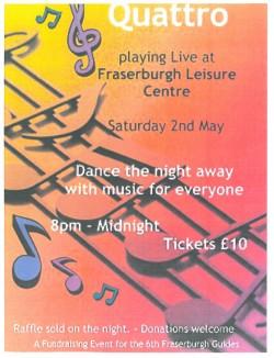 Quattro - Playing Live at Fraserburgh Leisure Centre @ Fraserburgh Leisure Centre | Fraserburgh | United Kingdom