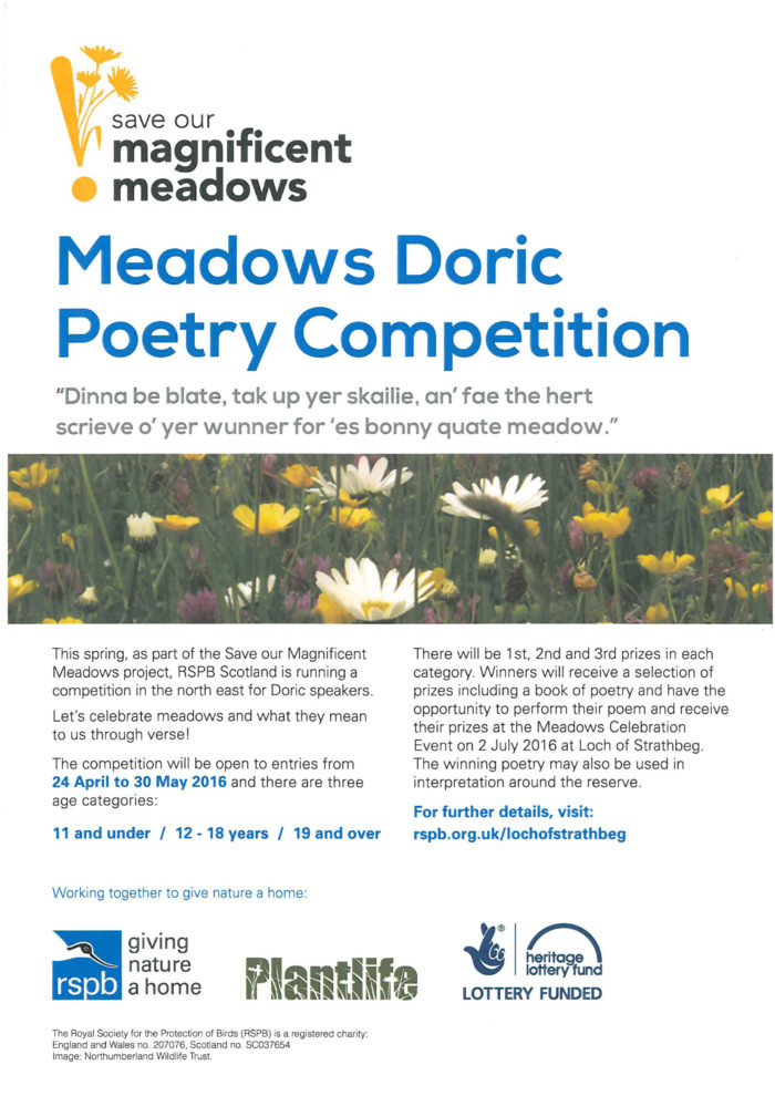 Meadows Doric Poetry Competition @ Loch of Strathbeg   United Kingdom