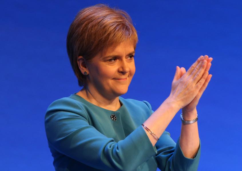 Nicola Sturgeon. Picture: PA