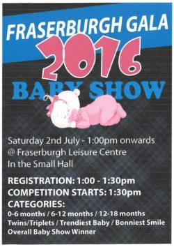 Baby Show @ Fraserburgh Leisure Centre