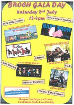 Broch Gala Day @ Fraserburgh Leisure Centre