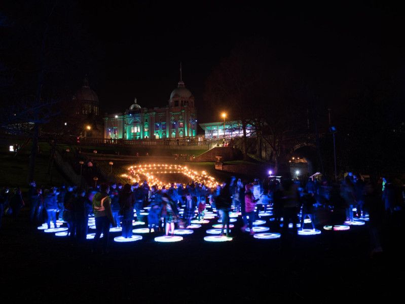 SPECTRA 2016 - Aberdeens spectacular festival of light - has been nominated in three categories of The Drum Scottish Event Awards 2016.
