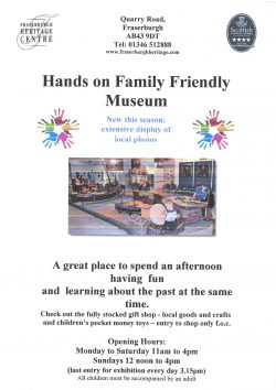 Hands on Family Friendly Museum @ Fraserburgh Heritage Centre  | Scotland | United Kingdom