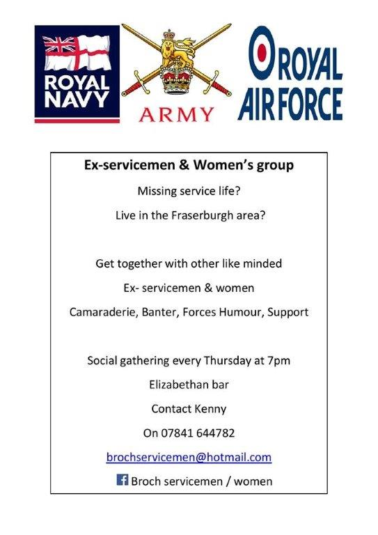 Royal Air Force Ex-servicemen & Women's group @ Elizabethan Bar | Fraserburgh | Scotland | United Kingdom