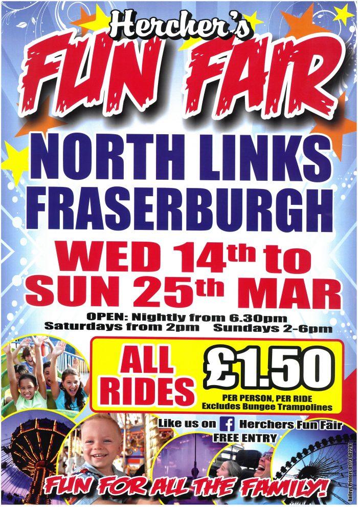 Fun Fair @ North links  | Fraserburgh | Scotland | United Kingdom